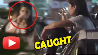 Katrina Kaif CAUGHT Drinking In Public | MUST WATCH
