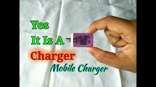 How To Make A Emergency Mobile Phone Charger..Mobile Charger Without Electricity..Simple Process.
