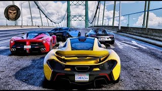 ► GTA 6 Graphics - Hypercars Gameplay! 2018 ✪ REDUX & M.V.G.A. - Ultra Realistic Graphics MOD 60FPS