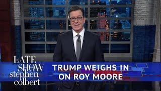 Trump On Roy Moore: