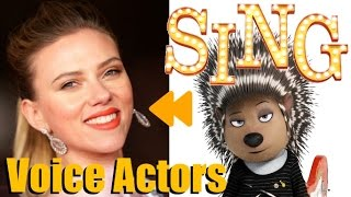 """Sing (2016)"" Voice Actors and Characters"