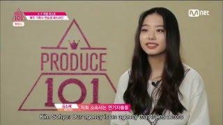 Produce 101 EP1: Kim Sohye Cut