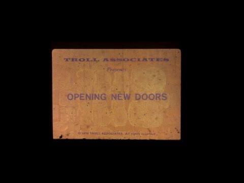 Standard Filmstrip Projector Model 333 with Troll Associates Opening New Doors Film