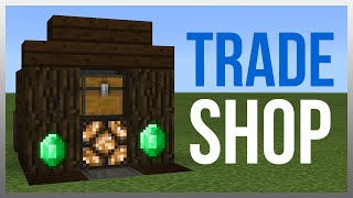 MCPE 0.15.0: Redstone Tutorial - Trade Shop! (WORKS ON PC)
