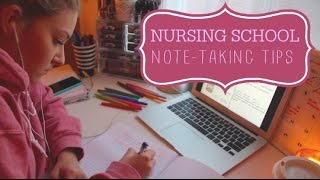 NURSING SCHOOL - HOW I TAKE NOTES