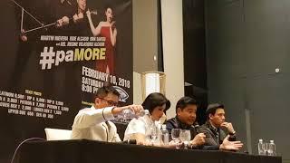 #paMORE presscon with Ogie Alcasid, Erik Santos, Martin Nievera and Regine Velasquez