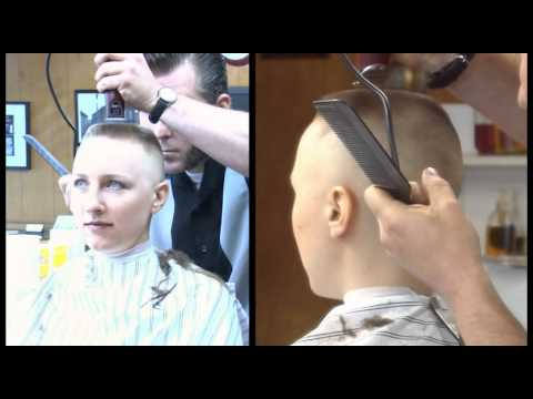 preview clip of Calley s Barbershop Flat Top and Head Shave
