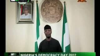 Nigeria's 2017 Democracy Day Speech by Acting President Yemi Osinbajo
