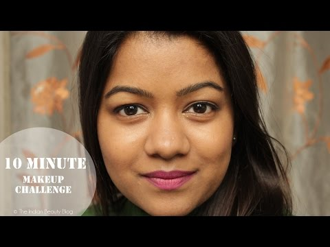 10 minute makeup challenge | The Indian Beauty Blog