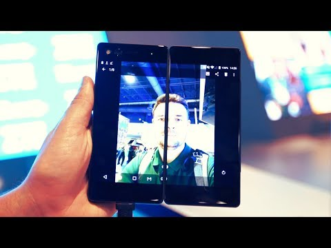 Xxx Mp4 CES Week 2018 Czytnik W Ekranie Smartfon Z Dwoma Ekranami I Robot Na Którym Można Jeździć 3gp Sex