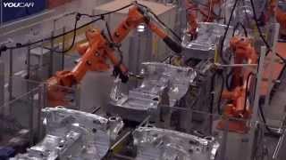 كيف تصنع روبوتات فائقة التطور والسرعة سيارات production technology of BMW
