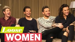 One Direction On Recording Made In The AM Without Zayn Malik | Loose Women