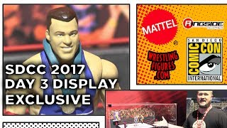 WWE SDCC 2017 - DAY 3 Figure Display! - NEW KURT ANGLE Wrestling Figures San Diego Comic Con