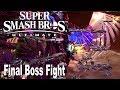Super Smash Bros. Ultimate - Final Boss Battle and True Ending [HD 1080P]