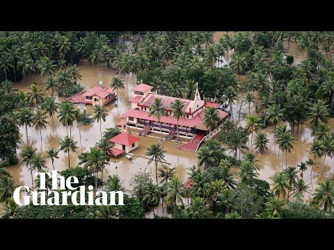 Xxx Mp4 Indian PM Surveys Flood Damage In Kerala As The Air Force Drops Aid To Victims 3gp Sex