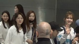 I.O.I arrival 아이오아이 @ Paris airport 1 june 2016 KCON Kpop - France juin IOI
