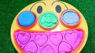 アンパンマン アニメ おもちゃ フェイスランチ皿の動画 まとめ 砂遊び お風呂 おままごと 人形劇