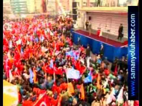 Iste Erdogan in ilk seçim mitingi Kocaeli