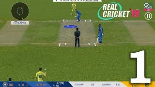 Real Cricket 19 Gameplay Walkthrough (Android, iOS) - Part 1