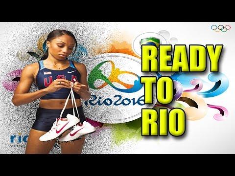 allyson felix training - ready to rio 2016