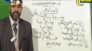 المبتدأ والخبر المختصر فى علم النحو 8 لفضيلة الأستاذ الدكتور- محمد حسن عثمان