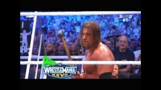 WrestleMania 27 Highlights(PPP)