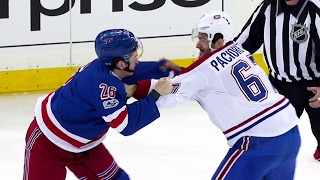 Pacioretty fires up bench with fight against Vesey