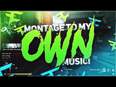 MONTAGE TO MY OWN MUSIC