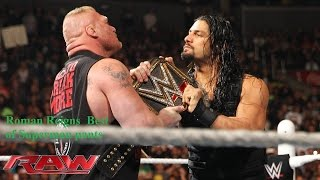 WWE Top 10  Roman Reigns Superman Punches HD