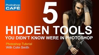 5 hidden tools you didn't know were in Photoshop