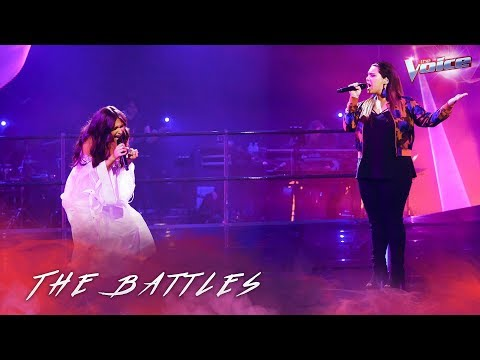 The Battles: Erin Whetters v Bella Paige 'Sorry Not Sorry' | The Voice Australia 2018