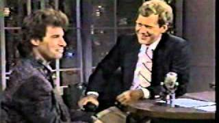 YOUNG DENNIS MILLER ON LATE NITE TALK SHOW 1980s
