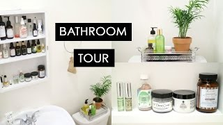 Bathroom Tour | Natural Skincare Collection