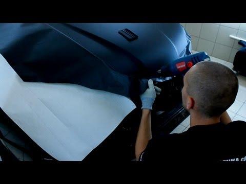 Как наклеить карбоновую пленку своими руками видео
