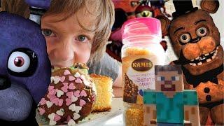 Адриан, Света и аниматроники. Украшаем вместе кексы!