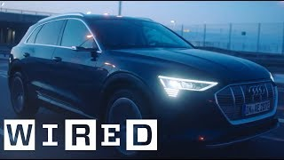 How the Audi e-tron takes car design to the next level | WIRED with Audi