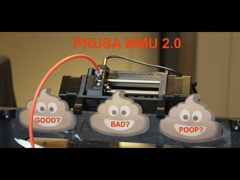 An In depth Look at the Prusa Multi Material Upgrade 2 MMU2