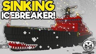 Icebreaker Sinks in the Biggest Waves I