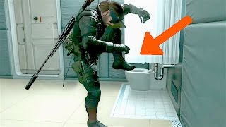 MGSV: Phantom Pain - Paz Room Secrets (Metal Gear Solid 5: Part 114)