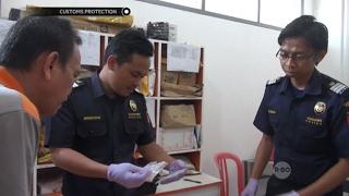 Paket Mencurigakan dari Belanda ini Ternyata Berisi Narkoba - Customs Protection