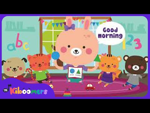 Good Morning Song | Circle Time Songs for Preschool | The Kiboomers