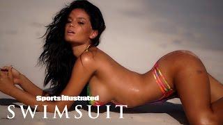 Brazilian Beauty Anne de Paula Bares All In Body Paint   Model Search   Sports Illustrated Swimsuit