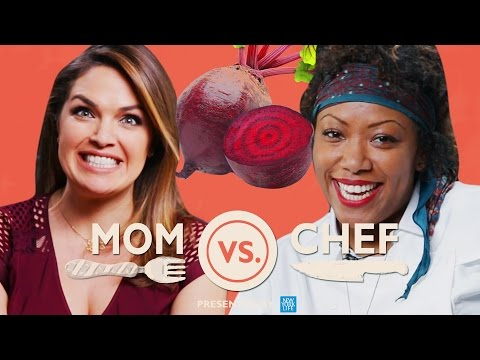 Mom Vs. Chef Battle Beets Sponsored By New York Life
