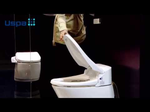 Deska Myjąca USPA automatyczna toaleta z bidetem