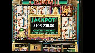 Cleopatra 2 Slot Play - High Limit Cleopatra 2 by IGT