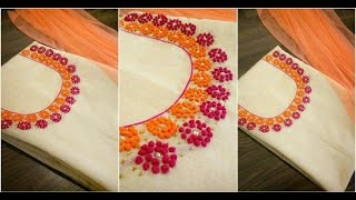 latest neck designs with embroidery suit and kurti (beautiful ever must watch)