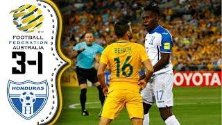Australia vs Honduras 3-1│Resumen Completo HD│Honduras eliminada de Rusia 2018.