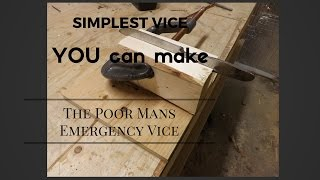 How to make a bench vise easy and simple