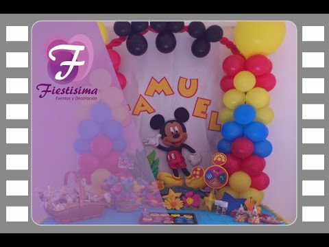 Decoracion infantil Mickey Mouse 3