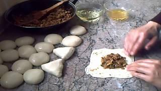 مسمن بريستيج باربع اشكال مختلفة روعة في الشكل والمذاااق بحشوة لذيييذة لمائدة رمضان